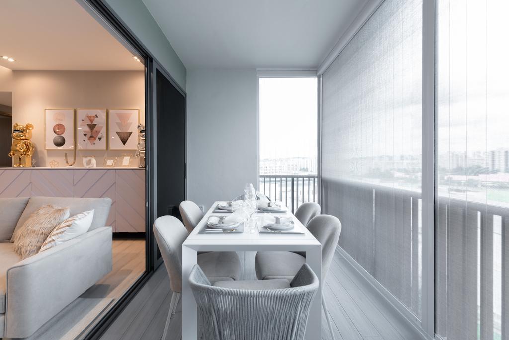 Contemporary, Condo, Balcony, Lakeville, Interior Designer, Mr Shopper Studio
