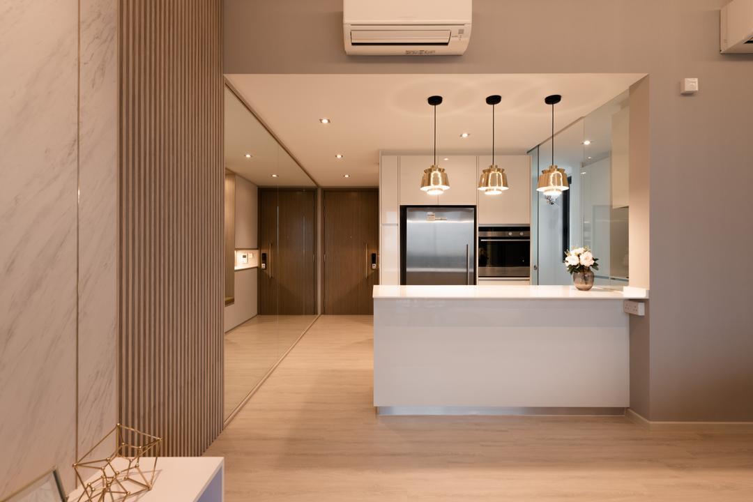 Lakeville, Mr Shopper Studio, Contemporary, Kitchen, Condo, Kitchen Island, Dry Kitchen, Open Concept, Open Kitchen