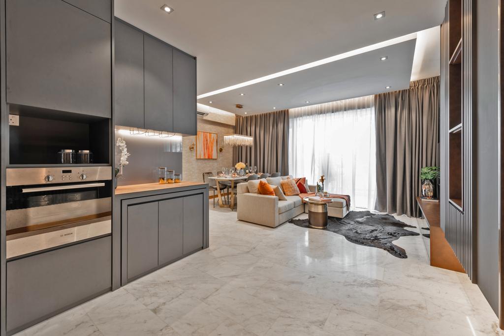 Contemporary, Condo, Living Room, Parkview, Interior Designer, Mr Shopper Studio