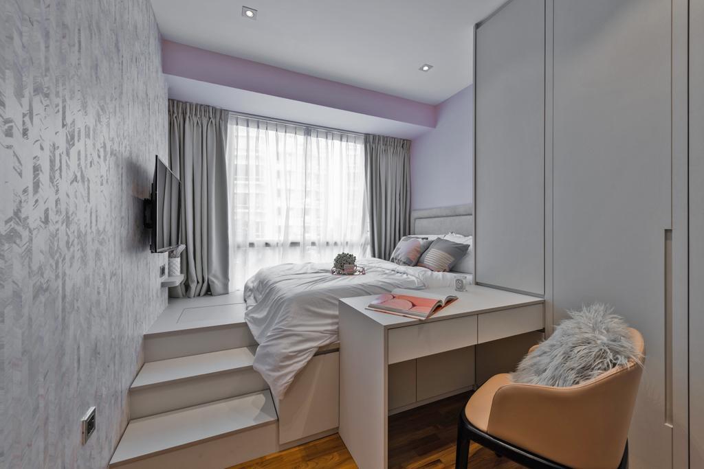 Contemporary, Condo, Bedroom, Parkview, Interior Designer, Mr Shopper Studio