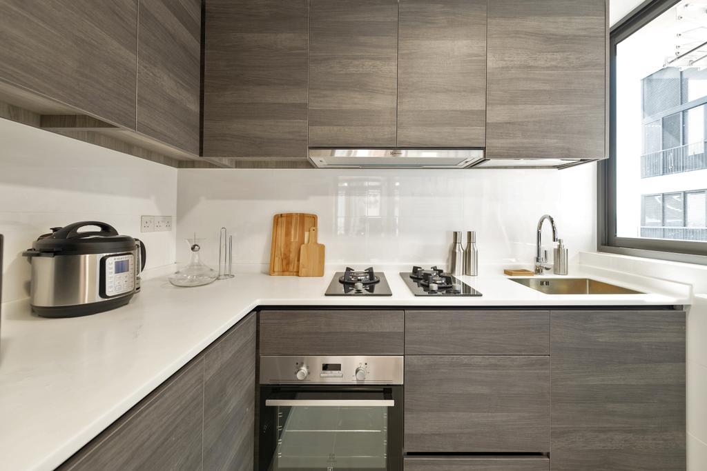 Contemporary, Condo, Kitchen, Sims Urban Oasis, Interior Designer, Mr Shopper Studio