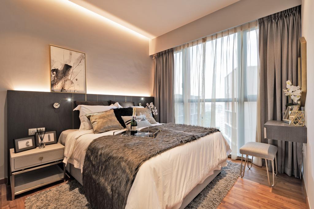 Contemporary, Condo, Bedroom, Sims Urban Oasis, Interior Designer, Mr Shopper Studio