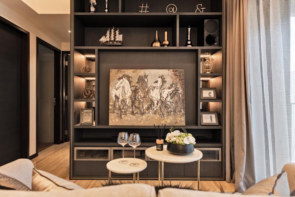 Contemporary, Condo, Living Room, Sims Urban Oasis, Interior Designer, Mr Shopper Studio