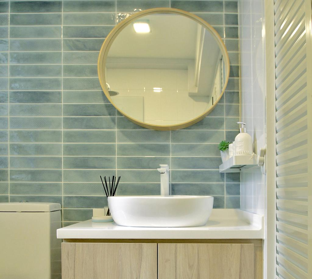 Scandinavian, HDB, Bathroom, Tampines Street 45, Interior Designer, Mr Shopper Studio