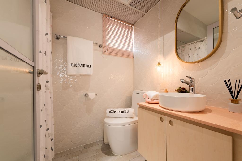 Scandinavian, HDB, Bathroom, Toa Payoh Apex, Interior Designer, Mr Shopper Studio
