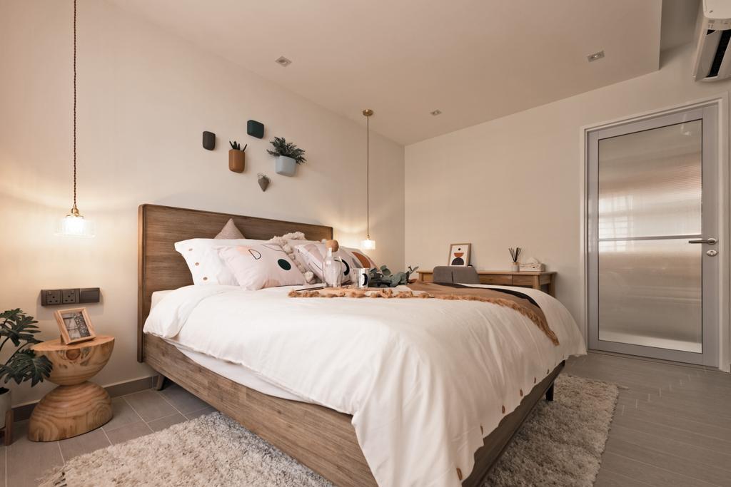 Scandinavian, HDB, Bedroom, Toa Payoh Apex, Interior Designer, Mr Shopper Studio