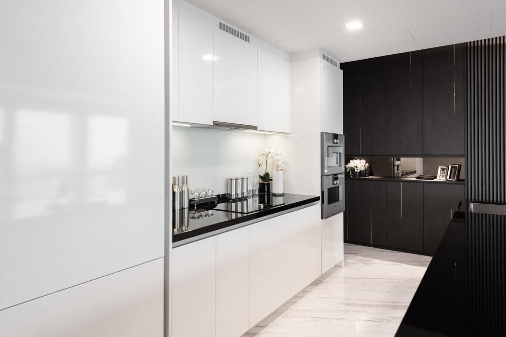 Contemporary, Condo, Kitchen, Wallich Residence, Interior Designer, Mr Shopper Studio