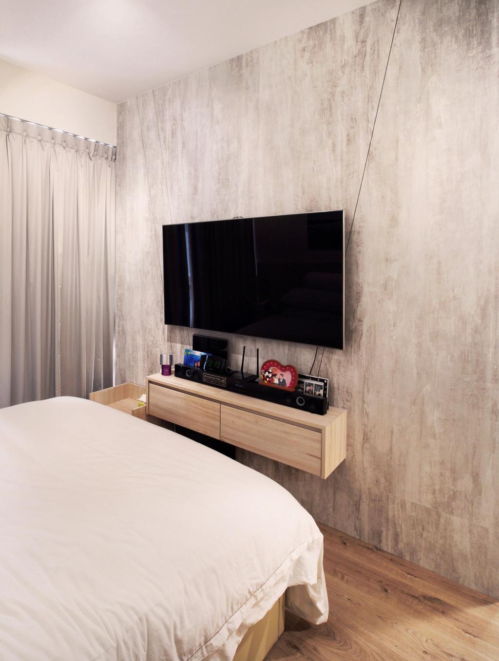 Contemporary, Condo, Bedroom, The Criterion, Interior Designer, Urban Habitat Design