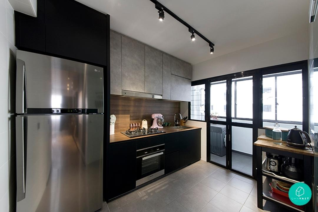Renovation Journey: Dramatic Monochromatic in Punggol
