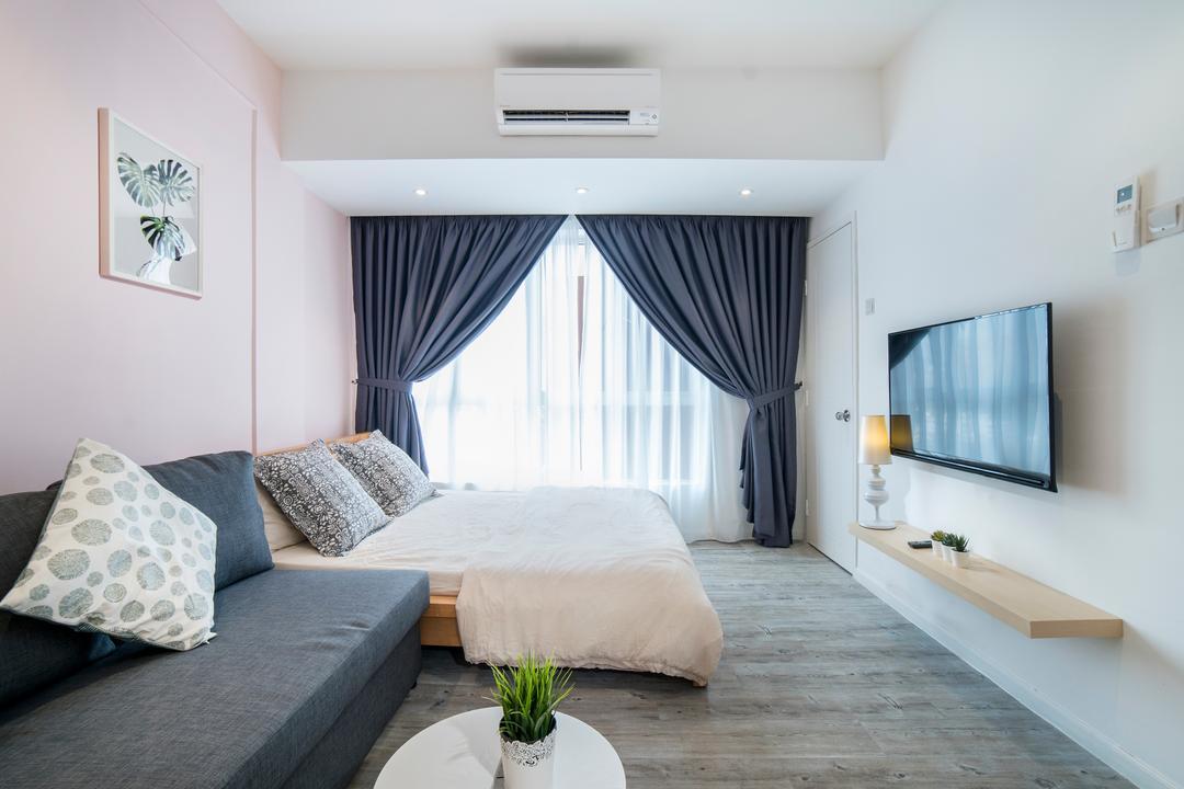 Casa Mutiara, Kuala Lumpur Living Room Interior Design 6
