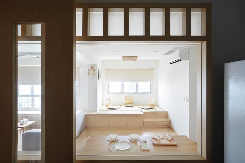 Minimalistic, HDB, Dining Room, Yishun Avenue 4, Interior Designer, D5 Studio Image