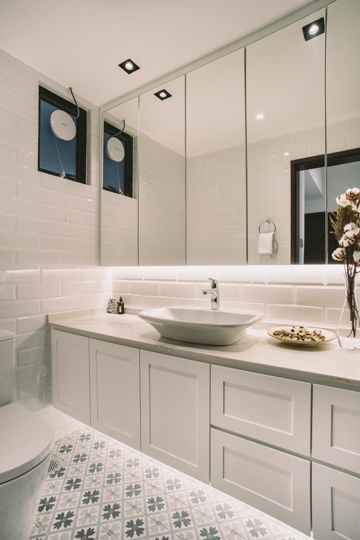 Contemporary, Condo, Bathroom, Yong An Park, Interior Designer, Urban Habitat Design