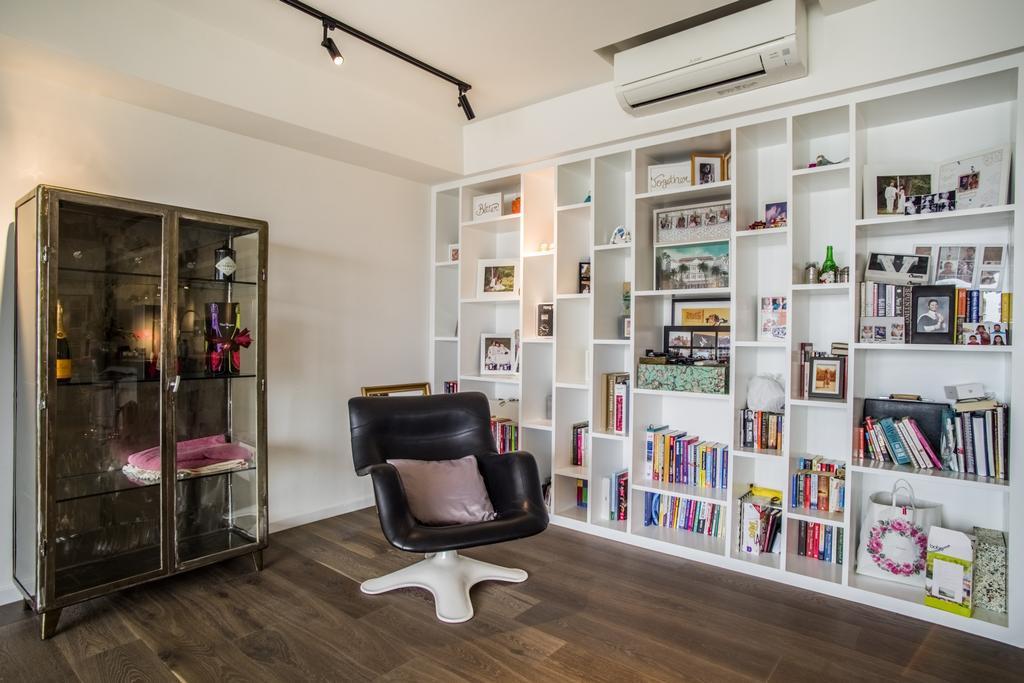 Contemporary, Condo, Study, Yong An Park, Interior Designer, Urban Habitat Design