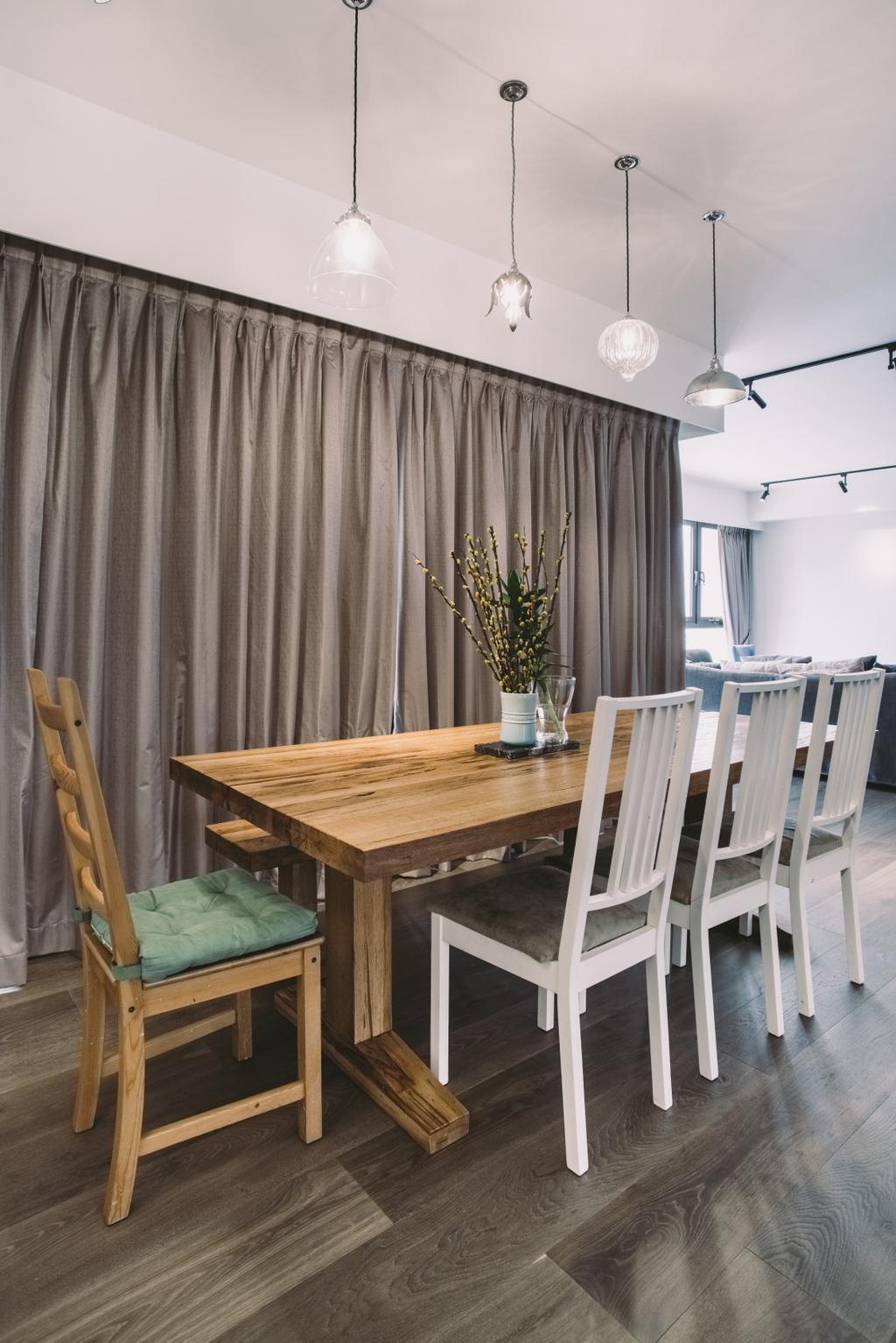 Contemporary, Condo, Dining Room, Yong An Park, Interior Designer, Urban Habitat Design