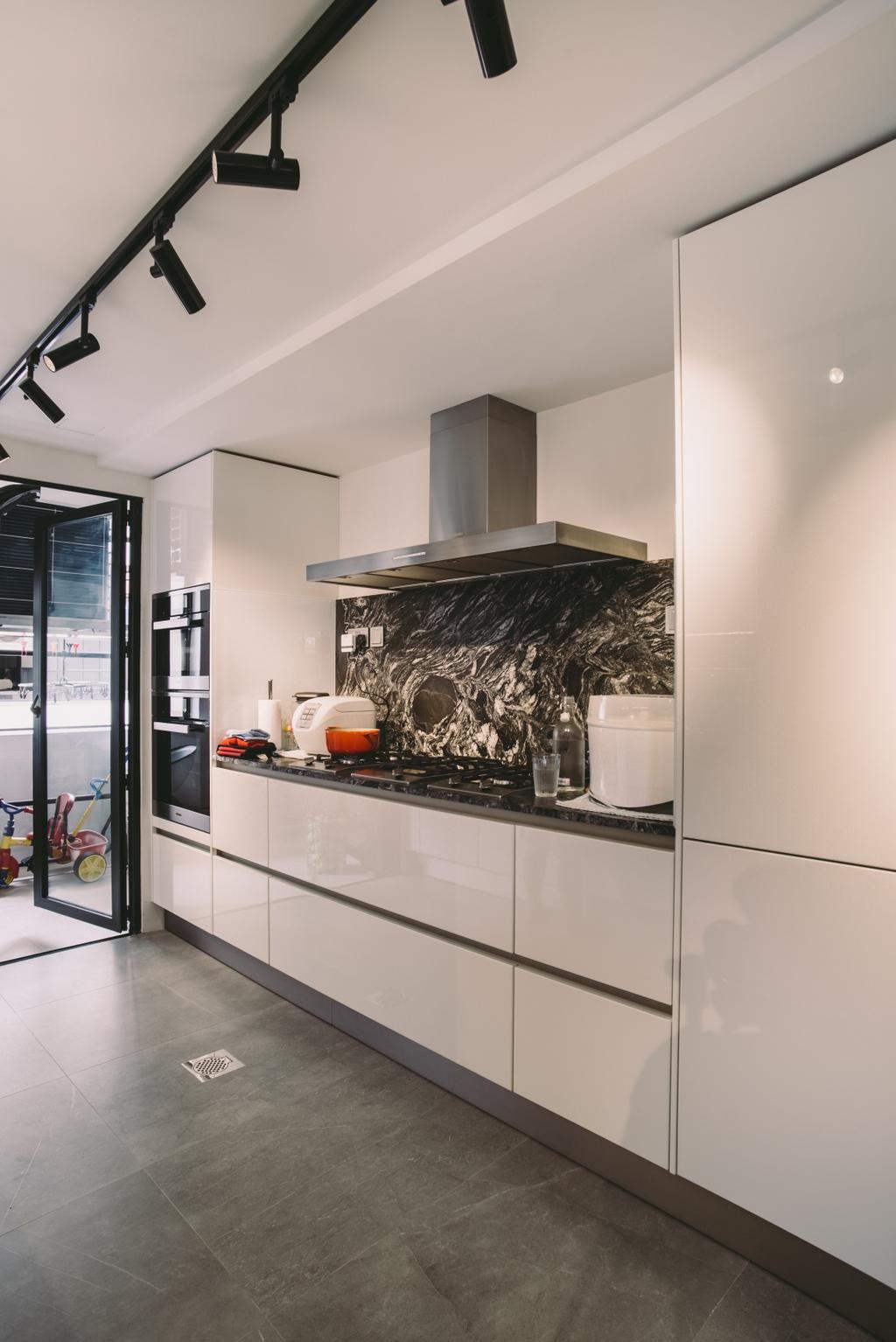 Contemporary, Condo, Kitchen, Yong An Park, Interior Designer, Urban Habitat Design