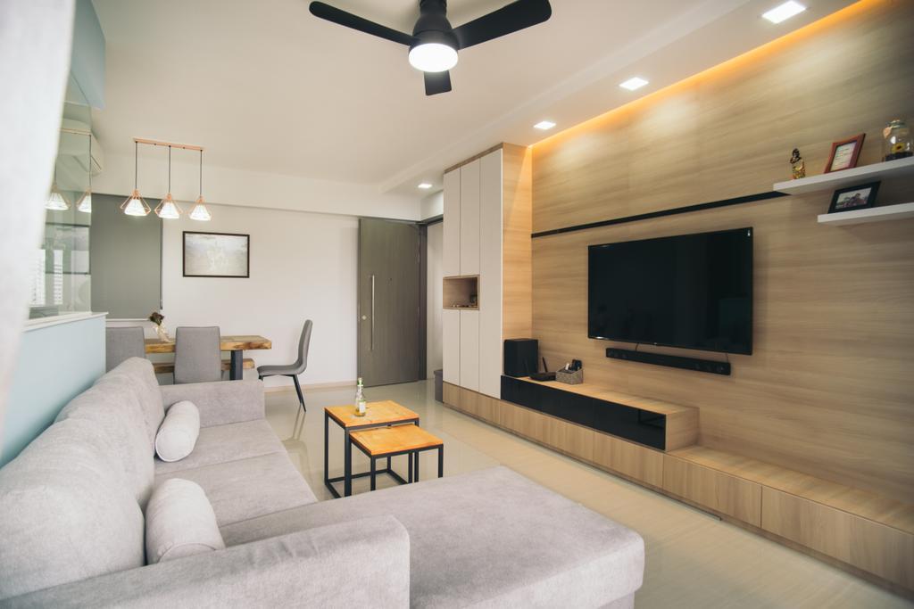 Contemporary, Condo, Living Room, Bellewaters, Interior Designer, Urban Habitat Design