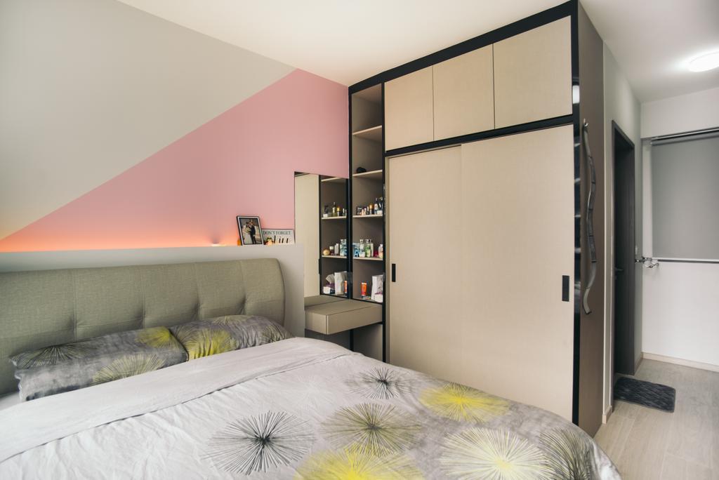Contemporary, Condo, Bedroom, Bellewaters, Interior Designer, Urban Habitat Design