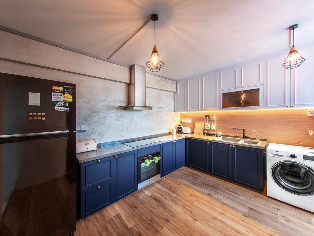 Contemporary, HDB, Kitchen, Hougang Avenue 1, Interior Designer, Urban Habitat Design