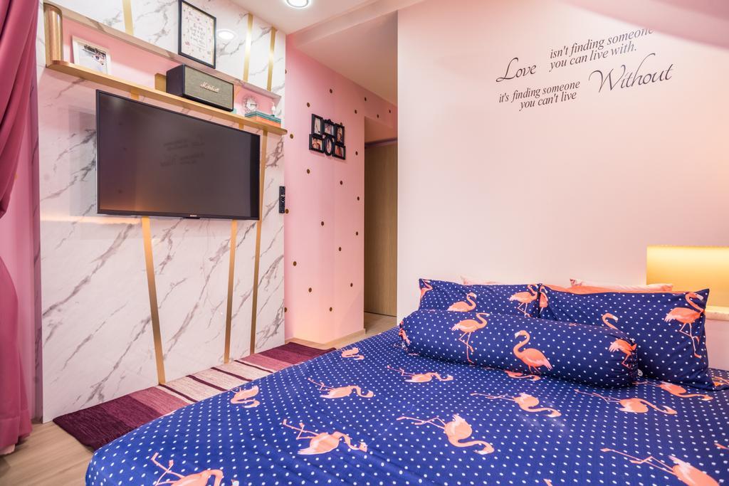 Transitional, Condo, Bedroom, Westwood Residences, Interior Designer, Urban Habitat Design