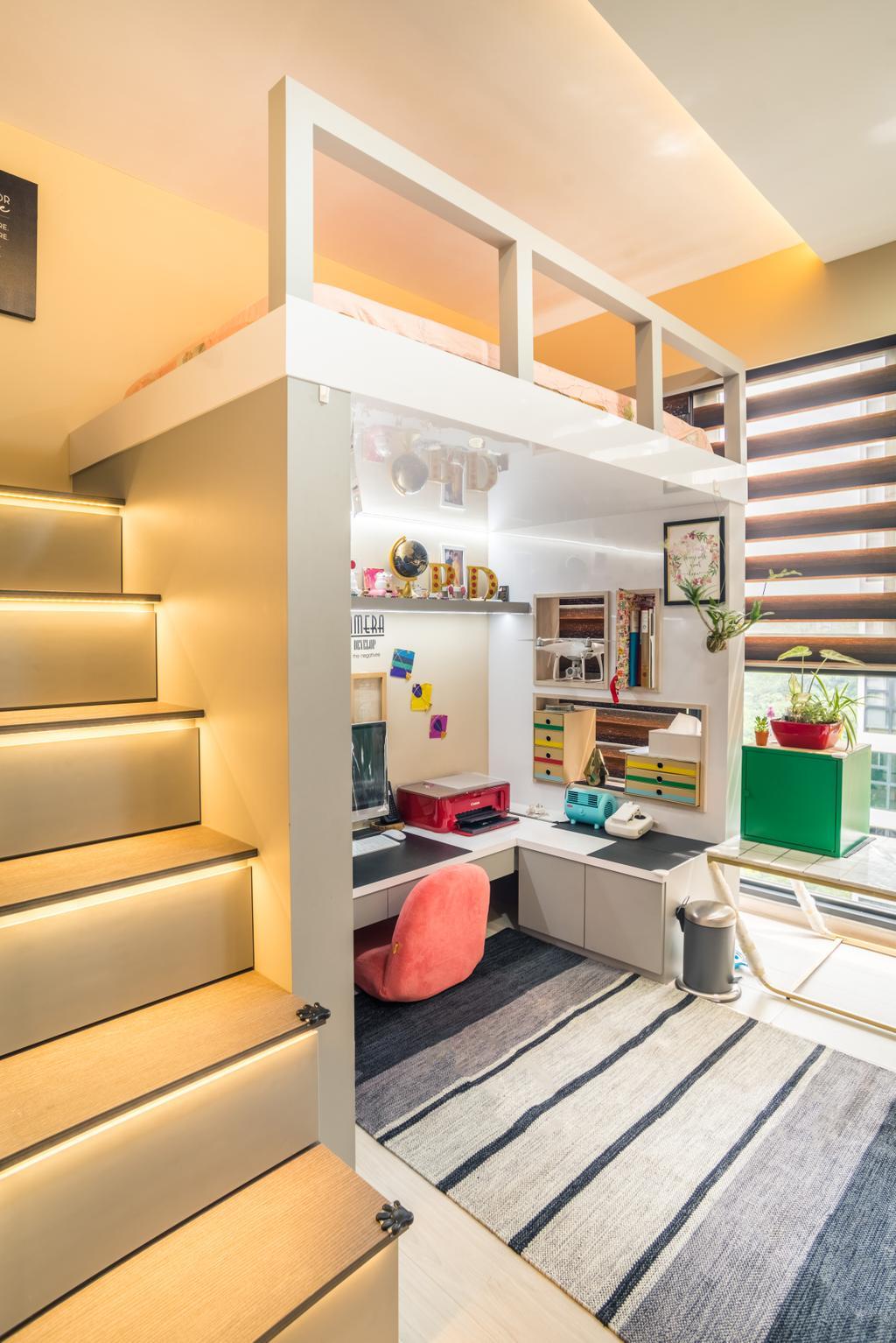 Transitional, Condo, Westwood Residences, Interior Designer, Urban Habitat Design