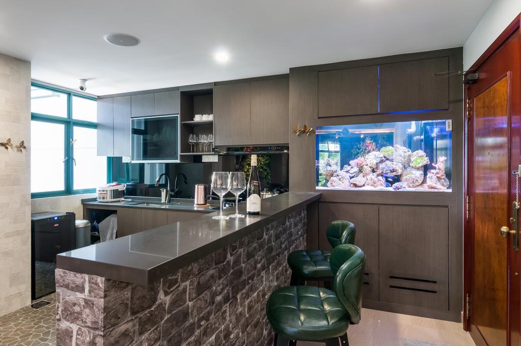 Eclectic, Condo, Kitchen, The Hillside, Interior Designer, Livinci Interior, Contemporary