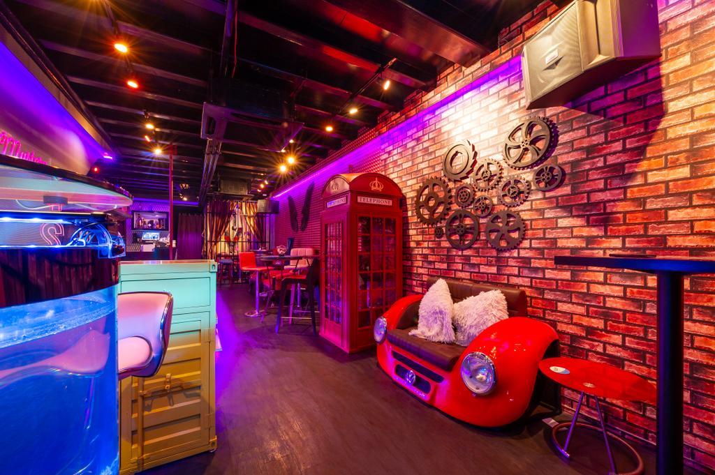 Msytery Bar, Commercial, Interior Designer, Livinci Interior, Eclectic