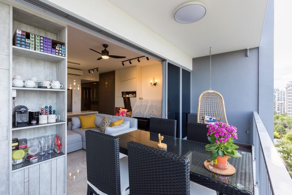 Contemporary, Condo, Balcony, Seastrand, Interior Designer, Unity ID