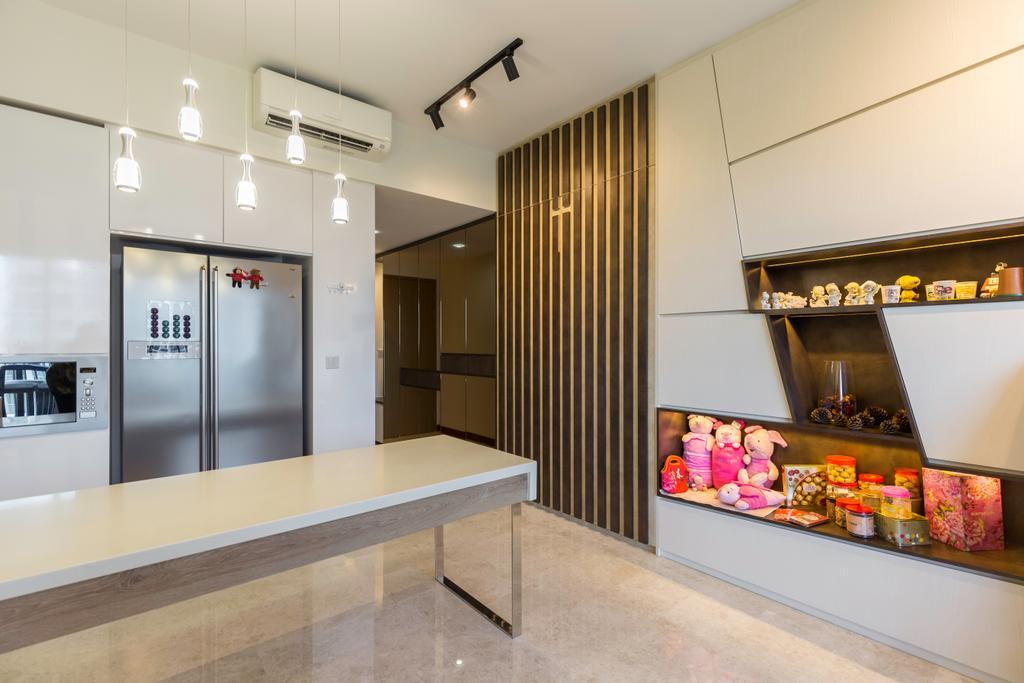 Contemporary, Condo, Kitchen, Seastrand, Interior Designer, Unity ID