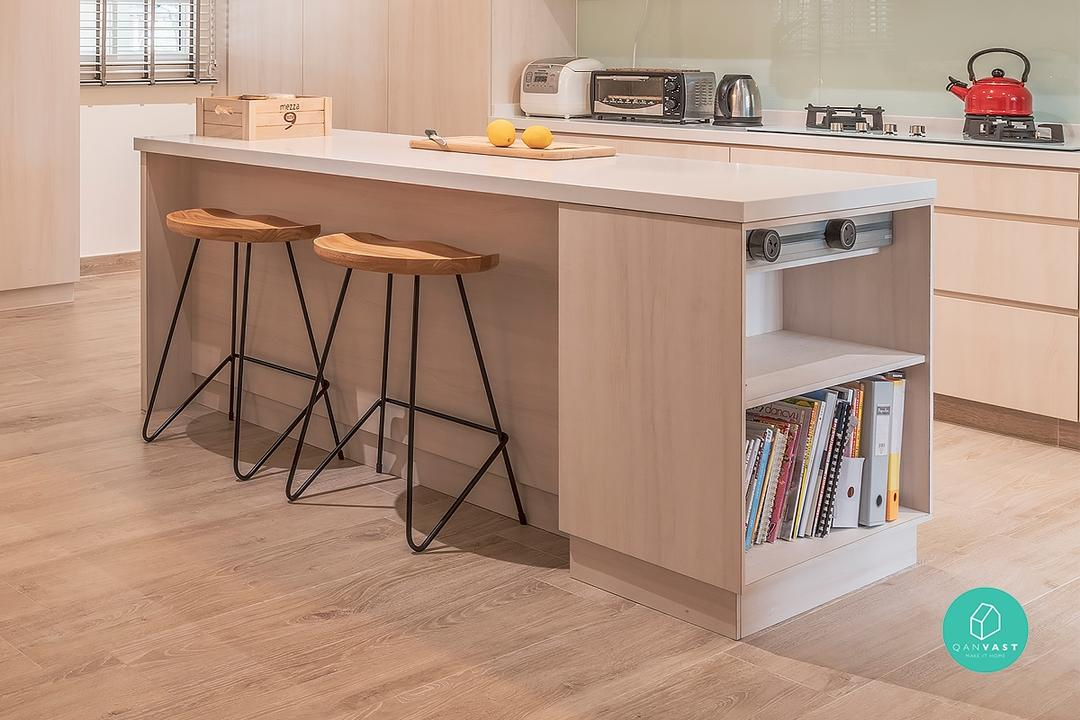 small kitchen island for HDBs