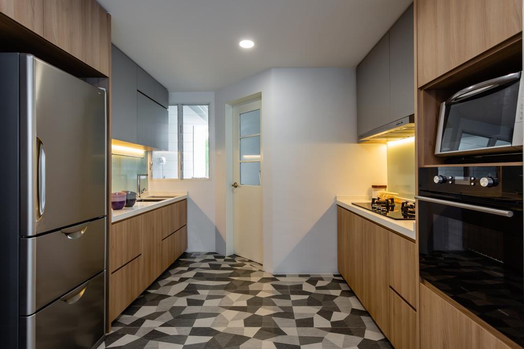 Scandinavian, Condo, Kitchen, Freesia Woods, Interior Designer, Schemacraft, Contemporary