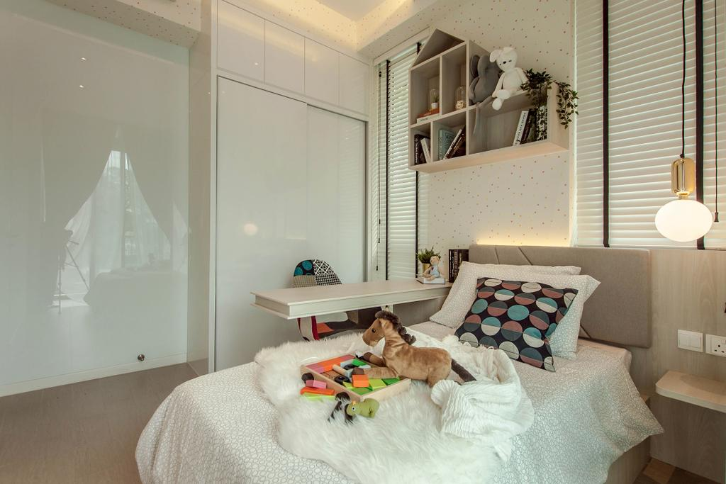 Contemporary, Condo, Bedroom, Roots @ Transit Road, Interior Designer, Space Atelier