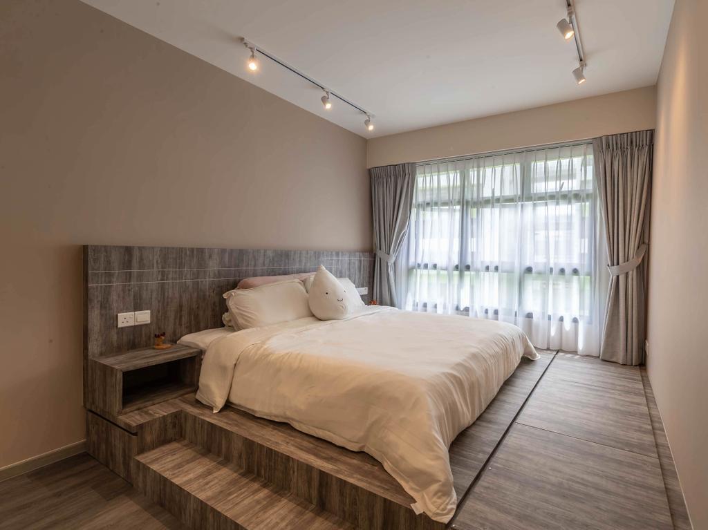 Contemporary, HDB, Bedroom, Tampines Street 61, Interior Designer, Ideal Design Interior