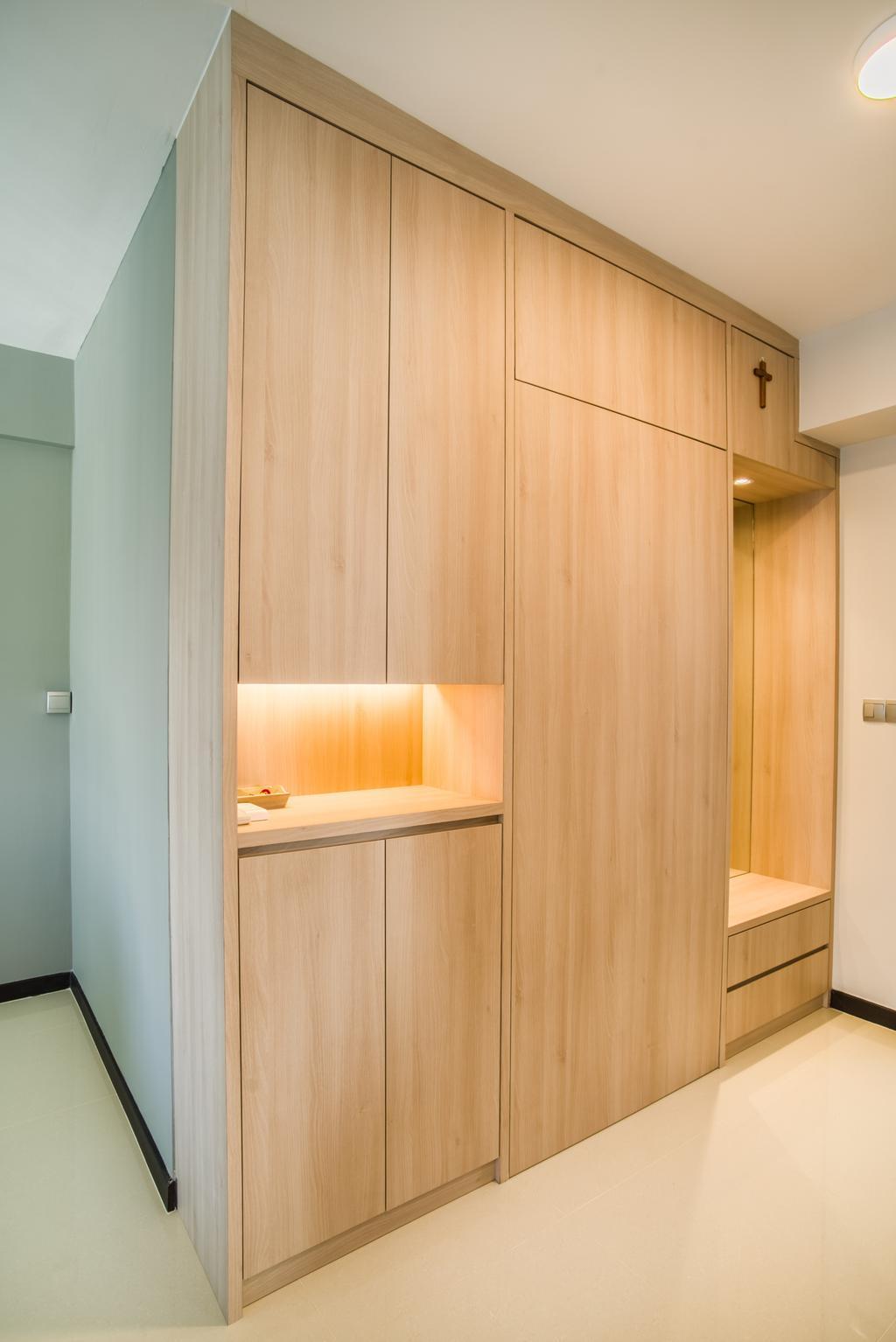 Contemporary, HDB, Edgedale Plains, Interior Designer, Urban Habitat Design, Scandinavian