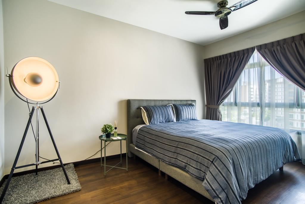 Contemporary, HDB, Bedroom, Edgedale Plains, Interior Designer, Urban Habitat Design, Scandinavian