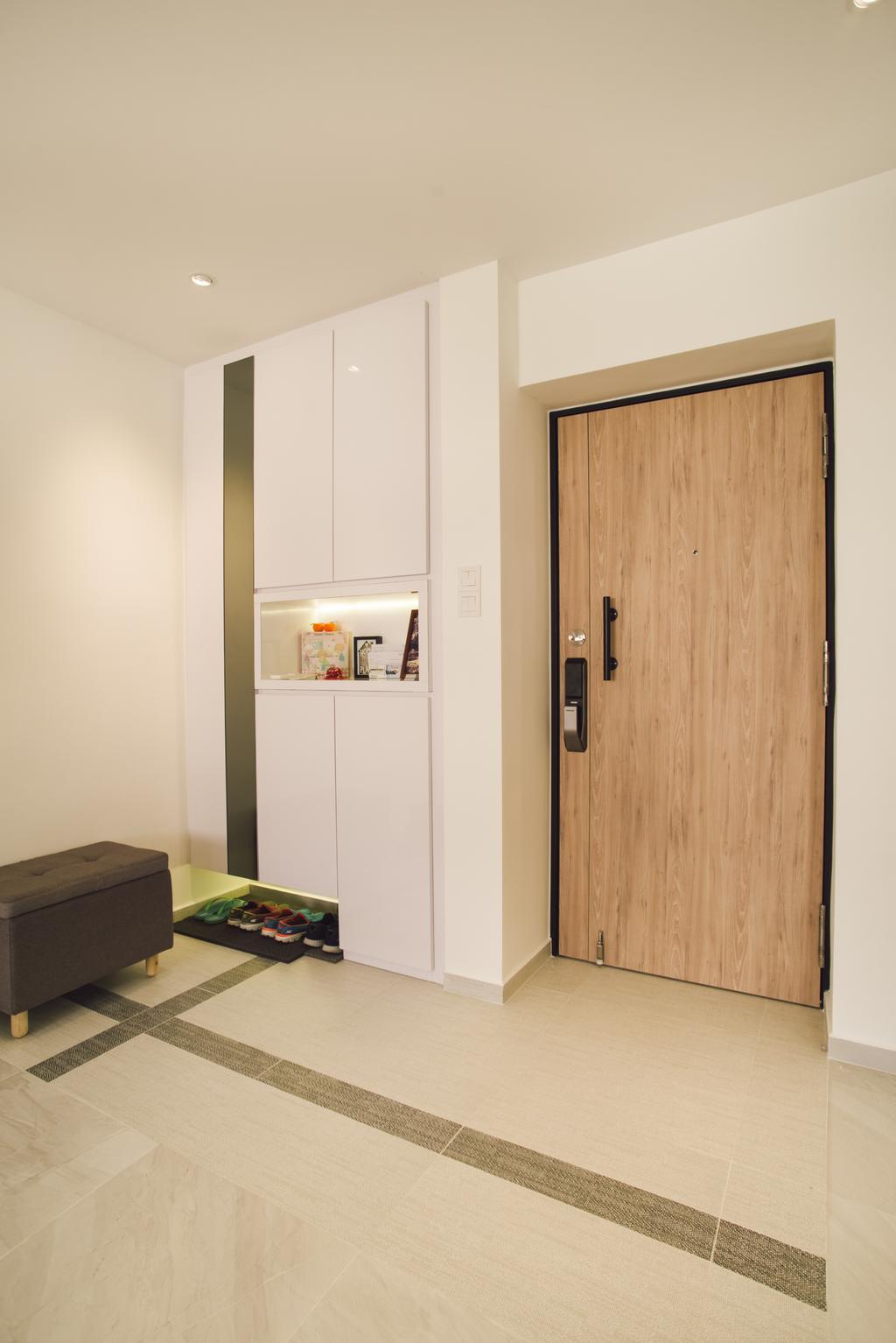 Contemporary, HDB, Simei Street 5, Interior Designer, Urban Habitat Design