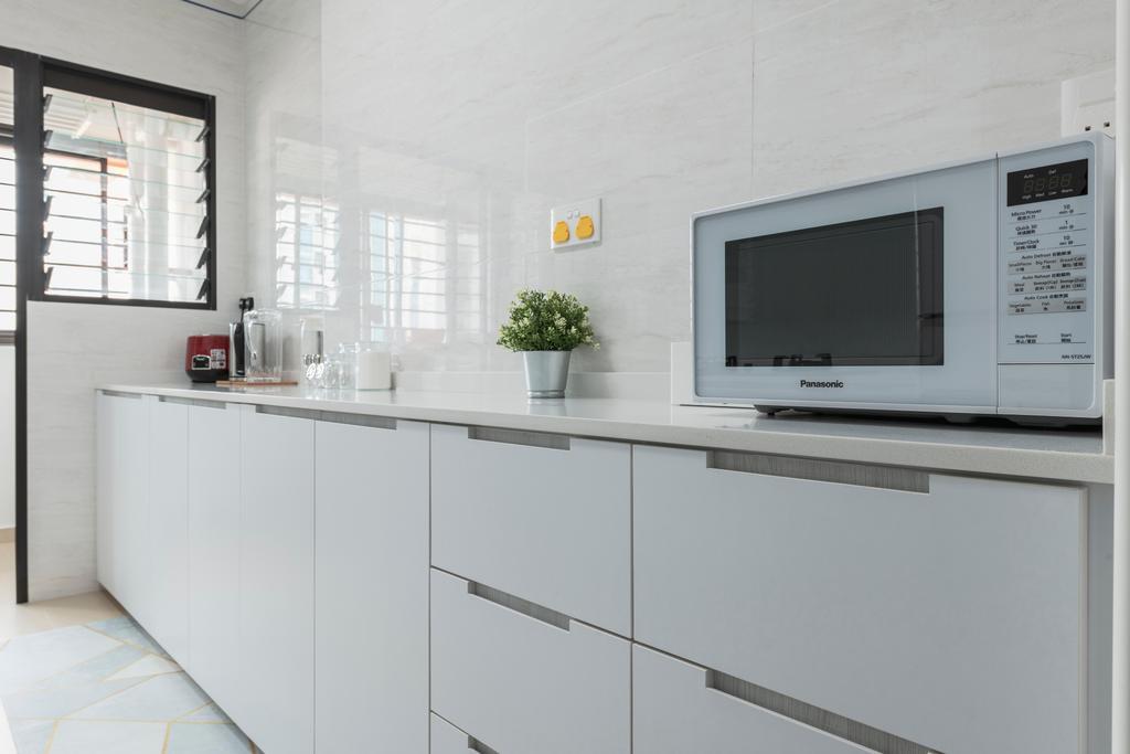 Contemporary, HDB, Kitchen, Buangkok Crescent, Interior Designer, Ideal Haus