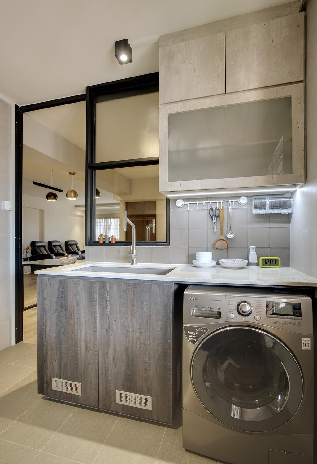Scandinavian, HDB, Kitchen, Lorong 2 Toa Payoh, Interior Designer, Liid Studio