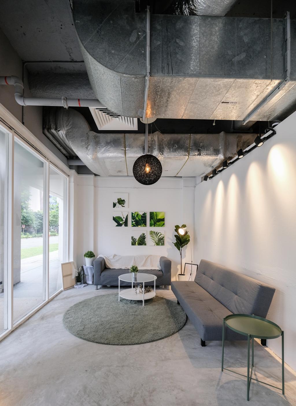 Bras Basah Road, Commercial, Interior Designer, Ascend Design, Industrial