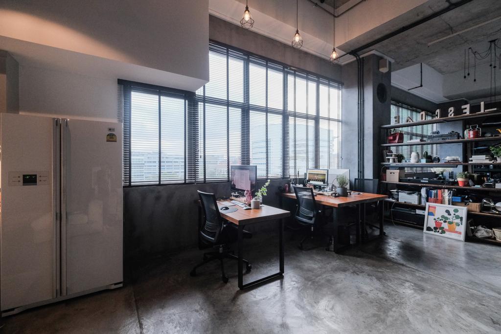 Kim Chuan Lane, Commercial, Interior Designer, Ascend Design, Industrial