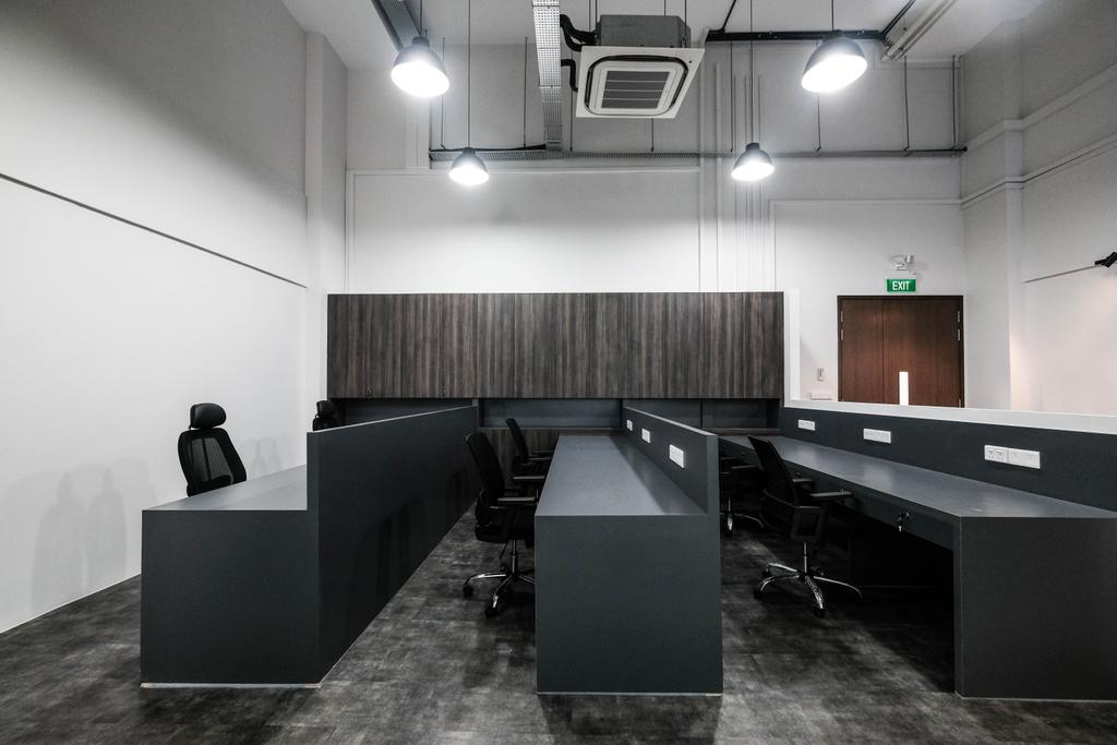 Jalan Pemimpin, Commercial, Interior Designer, Ascend Design, Industrial