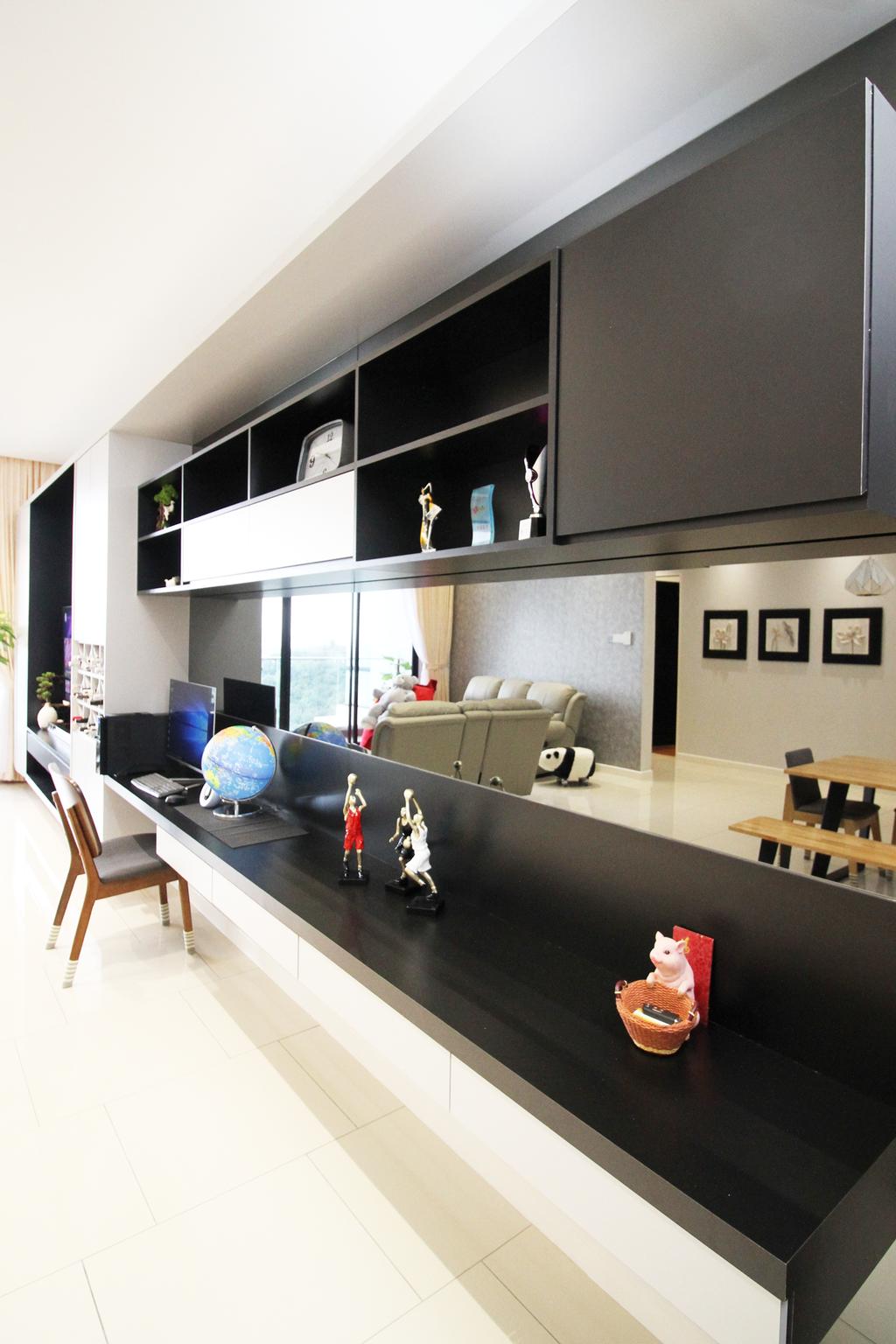 Modern, Apartment, Seri Puteri Hill, Puchong, Interior Designer, Interior+ Design Sdn. Bhd., Contemporary