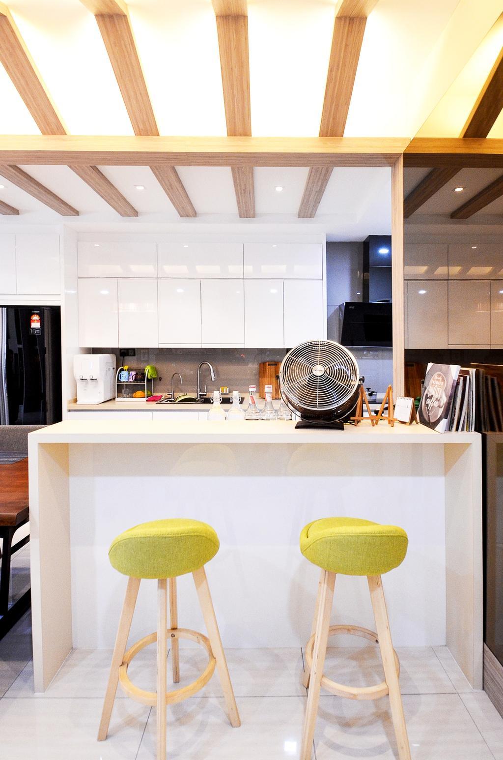 Modern, Apartment, Kitchen, Damansara Foresta, Bandar Sri Damansara, Interior Designer, Interior+ Design Sdn. Bhd.