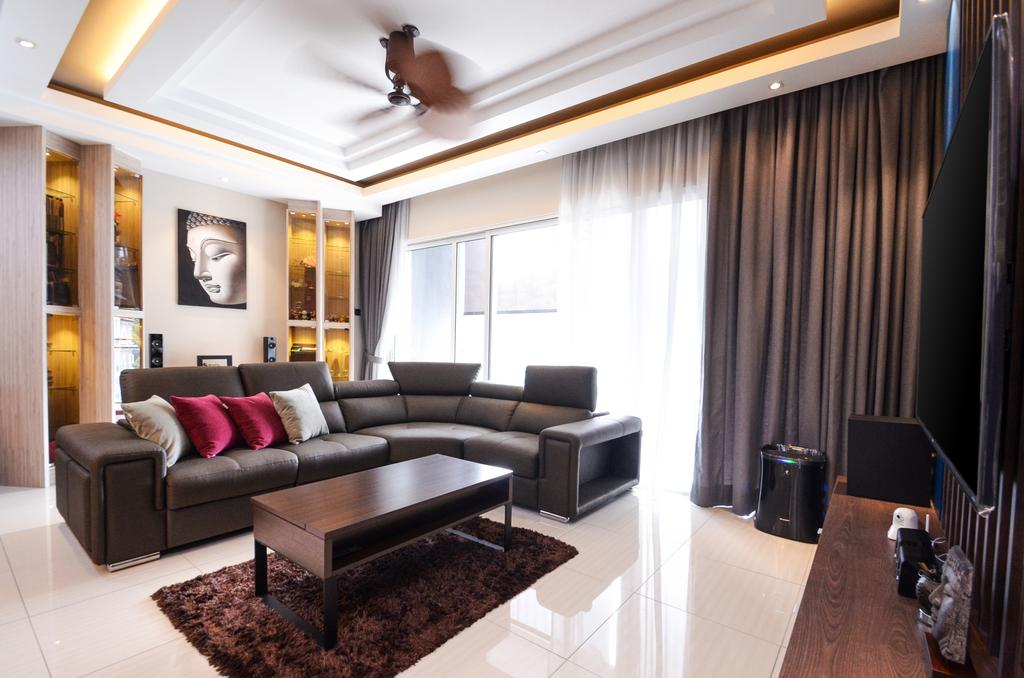 Modern, Apartment, Living Room, Damansara Foresta, Bandar Sri Damansara, Interior Designer, Interior+ Design Sdn. Bhd.
