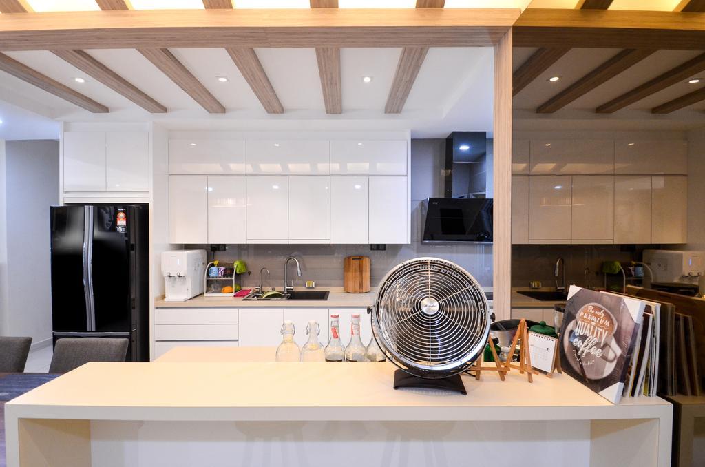 Modern, Apartment, Dining Room, Damansara Foresta, Bandar Sri Damansara, Interior Designer, Interior+ Design Sdn. Bhd.