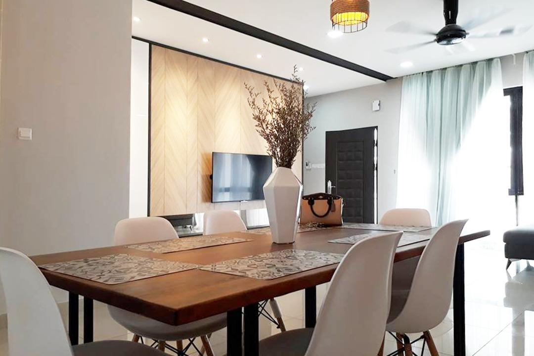 Anggun 3, Rawang Dining Room Interior Design 4