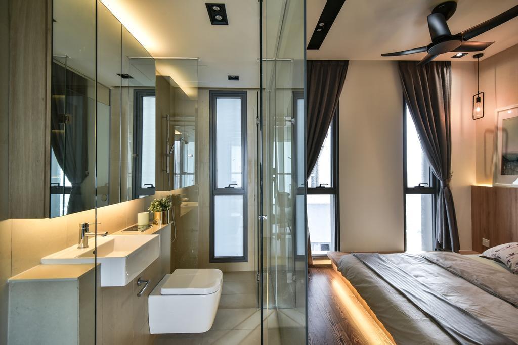 Contemporary, Apartment, Bathroom, The Fennel, Kuala Lumpur, Interior Designer, Interior+ Design Sdn. Bhd.