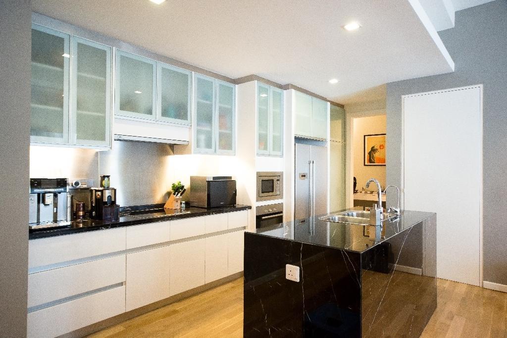 Modern, Apartment, Kitchen, St Marry, Kuala Lumpur, Interior Designer, Interior+ Design Sdn. Bhd.