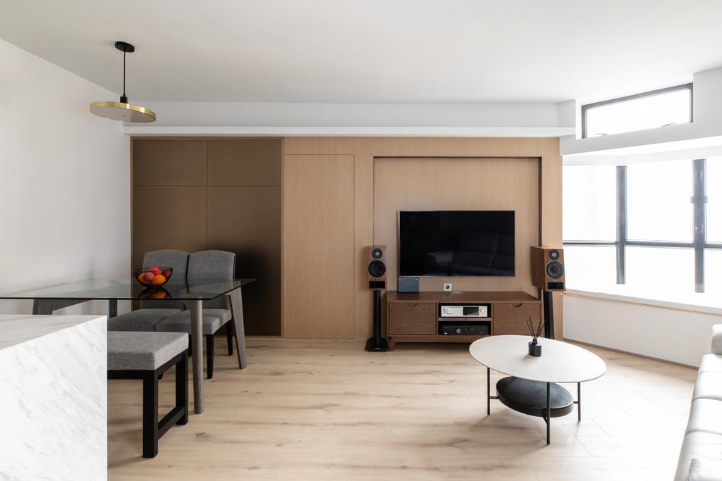 私家樓, 客廳, 光明臺, 室內設計師, MAD Studio Limited
