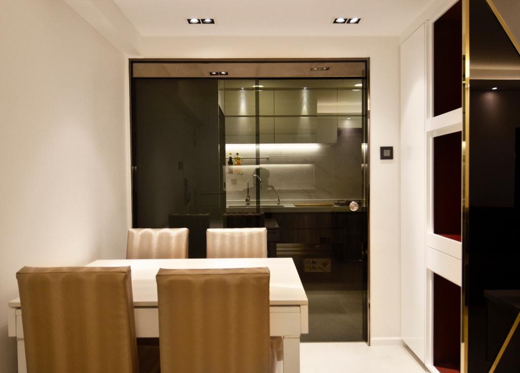 私家樓, 飯廳, 長安邨, 室內設計師, MAD Studio Limited