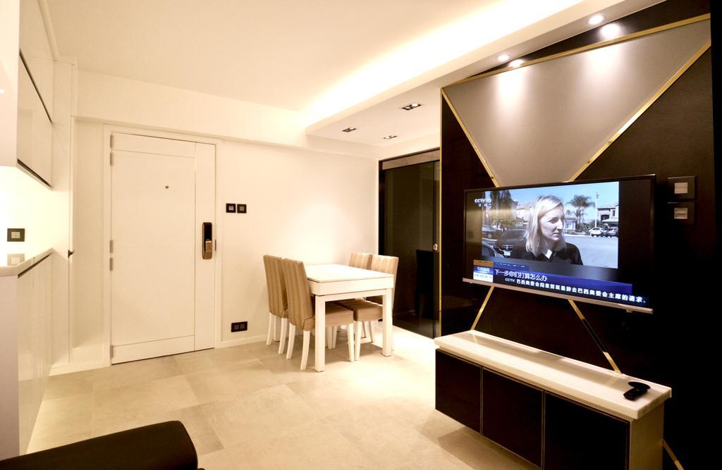 私家樓, 客廳, 長安邨, 室內設計師, MAD Studio Limited